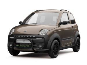 Voiture microcar mgo highland